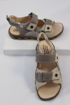 Nu-pieds Itou taupe TTY Babybotte