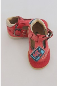Chaussures cuir rouge GBB
