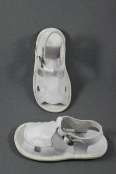 Nu-pieds Mappy blanc Kickers