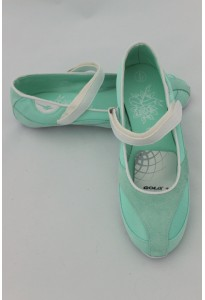Baskets vert d'eau-blanc - Gola