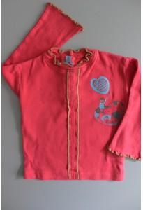 Tee-shirt ML rose, coeur Mini Stéréo