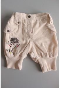 Pantalon velours écru Marèse