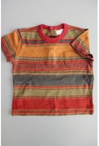 Tee-shirt MC rayé coloré Ralph Lauren