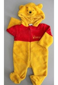 Surpyjama orange et rouge, Winnie Disney