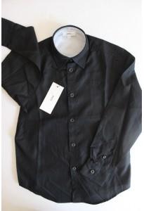 Chemise noire Hugo Boss