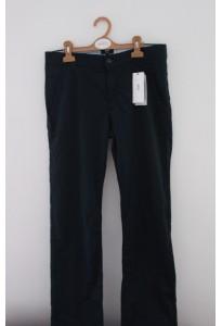 Pantalon droit bleu marine Hugo Boss