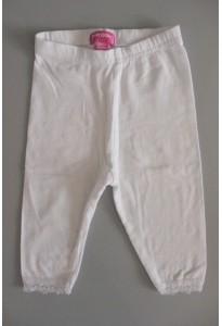 Leggings blancs, dentelle Pik Ouic