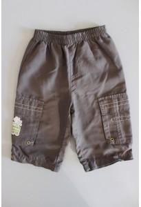 Pantalon souple kaki