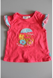 Tee-shirt MC rose, tigre LCDP
