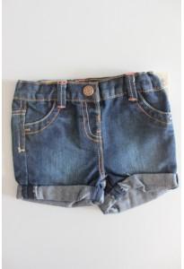 Short jean bleu brut Kiabi