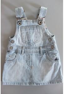 Robe salopette jean bleu used U