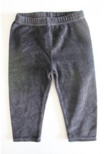 Leggings velours noir