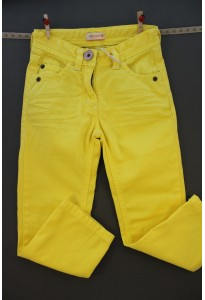Pantalon droit jaune Noppies