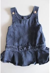 Robe jean bleu brut Gap
