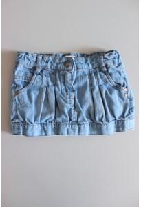 Mini jupe jean bleu Vertbaudet
