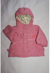 Manteau rose et vert Marèse 3 mois