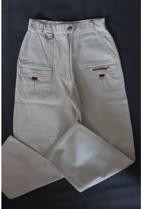Pantalon large écru Pataugas 10 ans