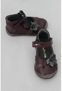 Chaussures Babies Saskia grenat Babybotte