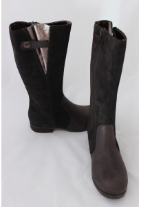 Bottes cuir marron Betsy TTY Babybotte