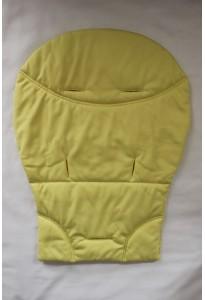 Coussin (assise) jaune pour poussette