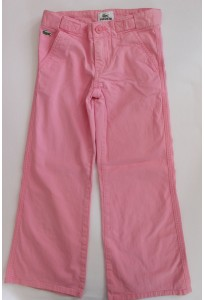 Pantalon rose, Lacoste