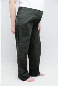 Large pantalon kaki
