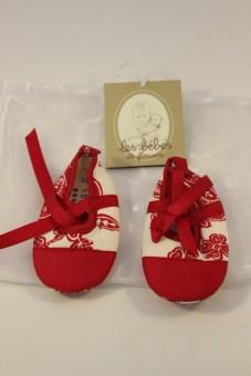 Bottons rouge-blanc Les Bébés de Floriane