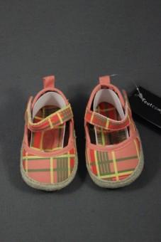 Bottons-Babies muticolores à carreaux Tout Compte Fait