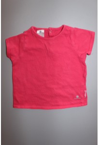Tee-shirt MC fuchsia Decathlon