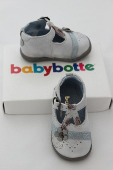 Chaussures Paloma argent silver Babybotte