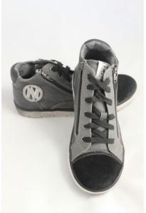 Baskets grises et noires VIP Noel