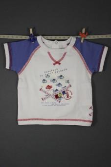 "Tee-shirt ""panoplie du petit pêcheur"" Sergent Major"